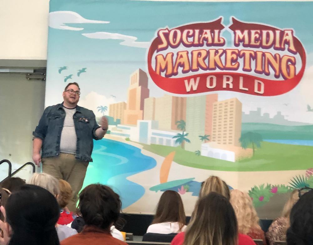 Social Media Marketing World 2019 Tyler McCall