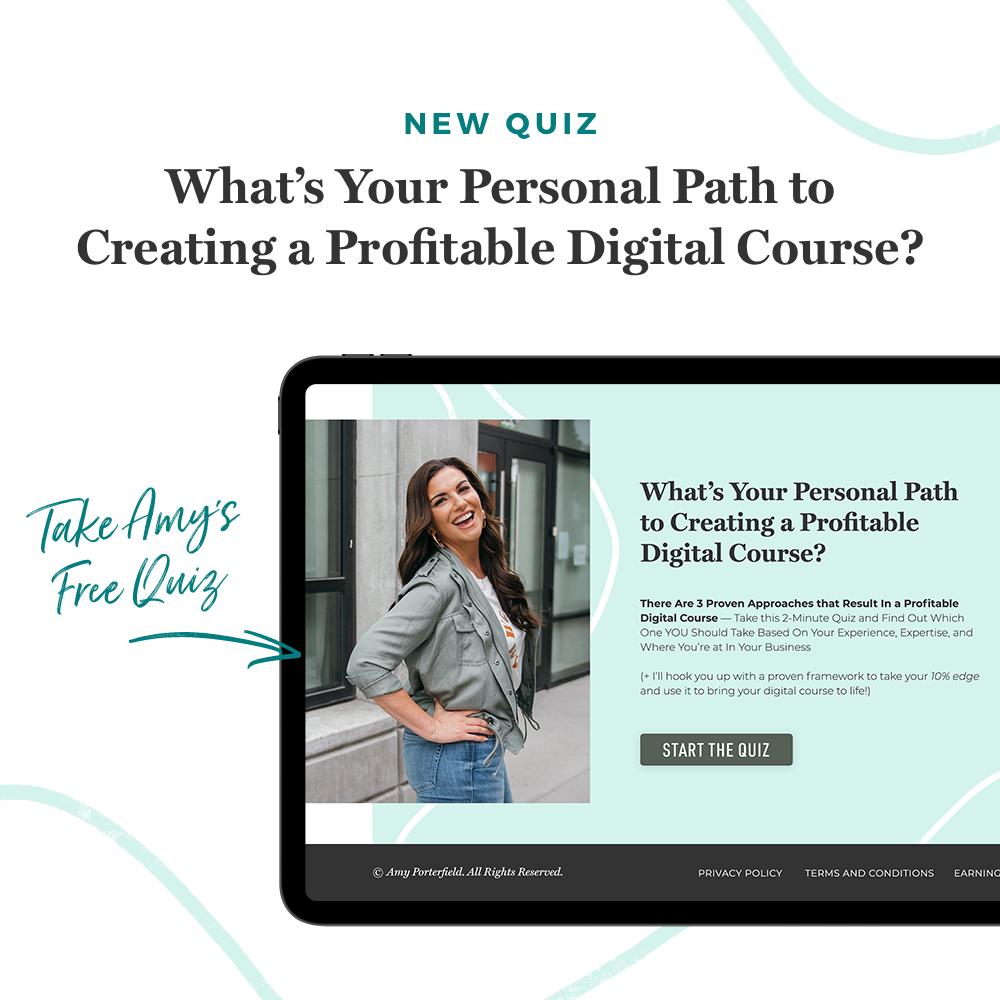 Amy Porterfield Quiz