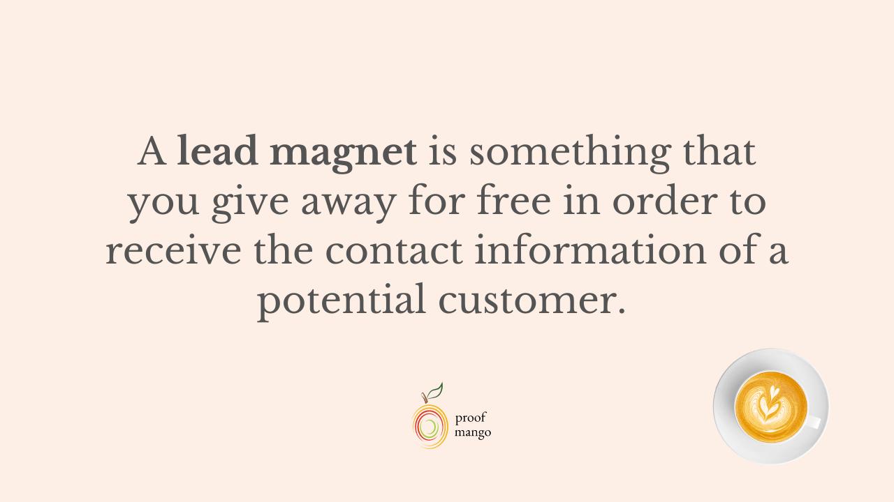 Best lead magnet for online course creators