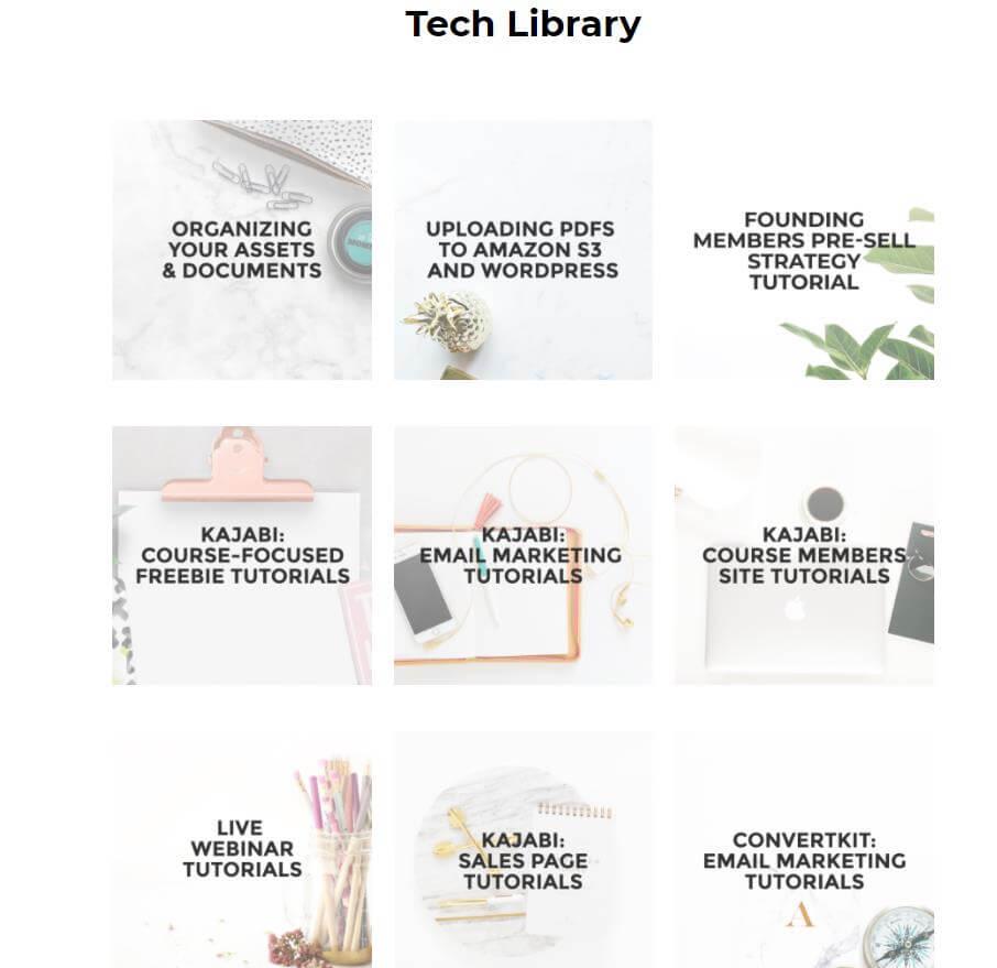 Tech Library Digital Course Academy
